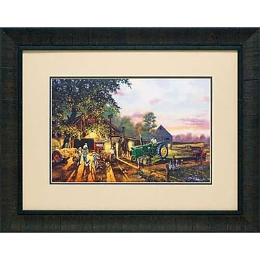 North American Art Once in a Lifetime by Dave Barnhouse Framed Painting Print