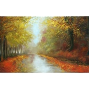 North American Art Brighter Days by Asia Jensen Painting Print on Wrapped Canvas
