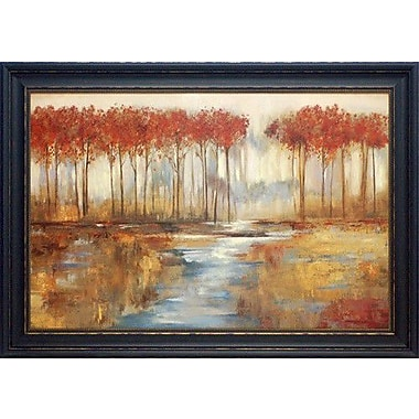 North American Art 'Gracious Landscape' by Allison Pearce Framed Painting Print
