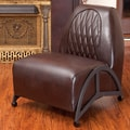 Home Loft Concept Dysert Leather Slipper Chair
