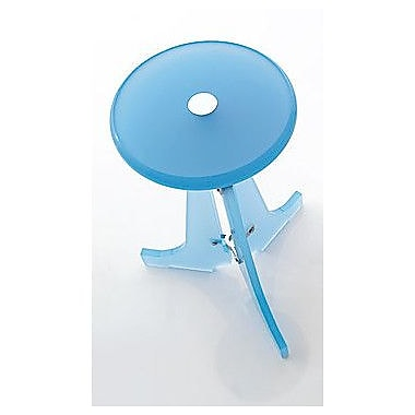 Toscanaluce by Nameeks Folding Stool; Blue