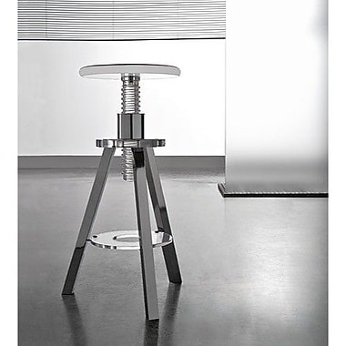 Toscanaluce by Nameeks Corkscrew Stool; Transparent