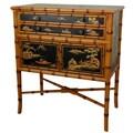 Oriental Furniture Ching 2 Drawer Cabinet