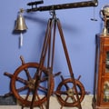 Old Modern Handicrafts Decorative Telescope with Stand