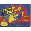Global Gallery 'Atomic Train of the Future' by Retrobot Stretched Canvas Art