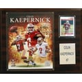 C & I Collectibles NFL Player Framed Memorabilia Plaque; Colin Kaepernick San Francisco 49ers