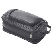 Clava Leather Clava Leather Quinley Expandable Toiletry Case; Black