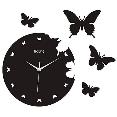 Creative Motion 14.17'' Butterfly Wall Clock