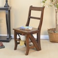 Carolina Cottage Franklin Library Ladder Chair; Chestnut