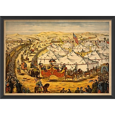 The Artwork Factory The Grand Lay Out Framed Painting Print