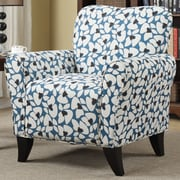 Handy Living Sasha Arm Chair; Blue