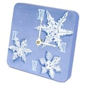Lexington Studios Snowflakes Tiny Times Desk Clock
