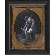 The Artwork Factory Charlie Chaplin Framed Photographic Print