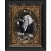 The Artwork Factory Tintype Photographs Dmitri MendeleevFramed Photographic Print