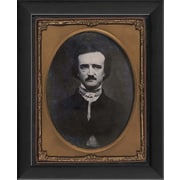 The Artwork Factory Tintype Photographs Edgar Allan PoeFramed Photographic Print