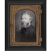The Artwork Factory Herman Melville Framed Photographic Print