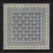 Blueprint Artwork Tile 11 Framed Graphic Art; Blue