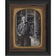 The Artwork Factory Tintype Photographs Thomas Edison Framed Photographic Print