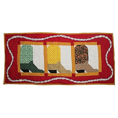 Patch Magic Boots Table Runner; 36'' W x 16'' L