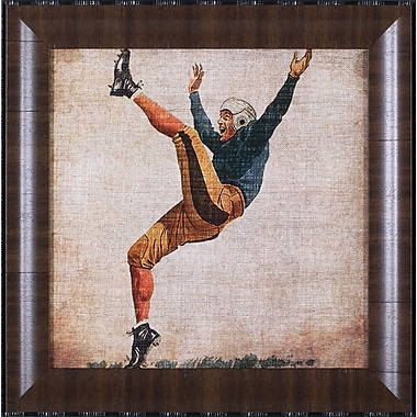 Art Effects Vintage Sports V by John Butler Framed Graphic Art