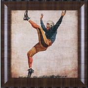 Art Effects Vintage Sports V by John Butler Framed Painting Print