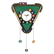 RAM Game Room Game Room Billiards Wall Clock