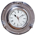 Cape Craftsmen 11'' Waterside Retreat Porthole Wall Clock