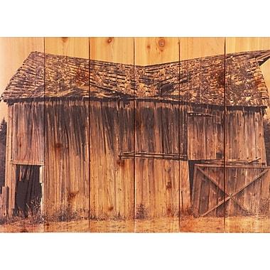 Gizaun Art Old Barn Photographic Print; 22.5 x 16