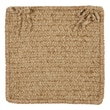 Colonial Mills Simple Chenille Chair Pad (Set of 4); Sand Bar