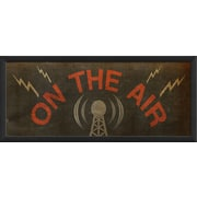 The Artwork Factory On the Air Framed Graphic Art