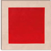 iCanvas Modern Art Square Complete (After Albers) Graphic Art on Canvas; 12'' H x 12'' W x 0.75'' D