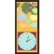 Green Leaf Art Fruits Garden 9.5'' I Art Clock