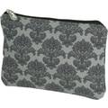 Bumble Bags Filagree Cosmetic Bag; Grey