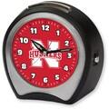 Cottage Garden Collegiate Alarm Table Clock; University of Nebraska