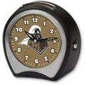 Cottage Garden Collegiate Alarm Table Clock; Purdue University