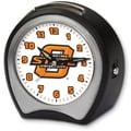 Cottage Garden Collegiate Alarm Table Clock; Oklahoma State University