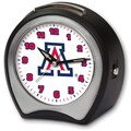 Cottage Garden Collegiate Alarm Table Clock; University of Arizona