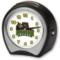 Cottage Garden Collegiate Alarm Table Clock; Baylor University