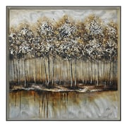 Ren-Wil Metallic Forest by Giovanni Russo Framed Painting Print