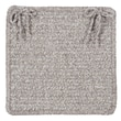 Colonial Mills Texture Woven Chair Pad (Set of 4); Soft Stone