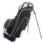 Hunter Golf Fury Stand Bag; Black/Silver
