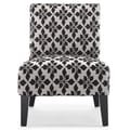 DHI Monaco Spades Slipper Chair; Black