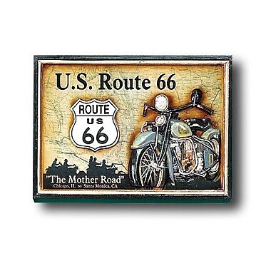 RAM Game Room Game Room Route 66 Framed Vintage Advertisement