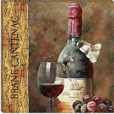 iCanvas Decorative Wine IV from NBL Studio Painting Print on Canvas; 37'' H x 37'' W x 1.5'' D