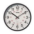 Dainolite Magnus 12'' Office Wall Clock