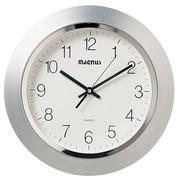 Dainolite Magnus 14'' Wall Clock; Silver