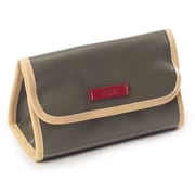 Clava Leather Carina Cosmetic Accessory Pouch; Army