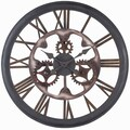 Cooper Classics Oversized 26'' Senna Wall Clock