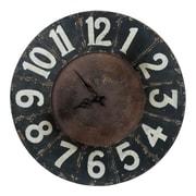 Cooper Classics Oversized 23.5'' Balencia Wall Clock