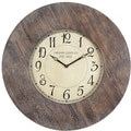 Cooper Classics Oversized 29.5'' Williston Wall Clock